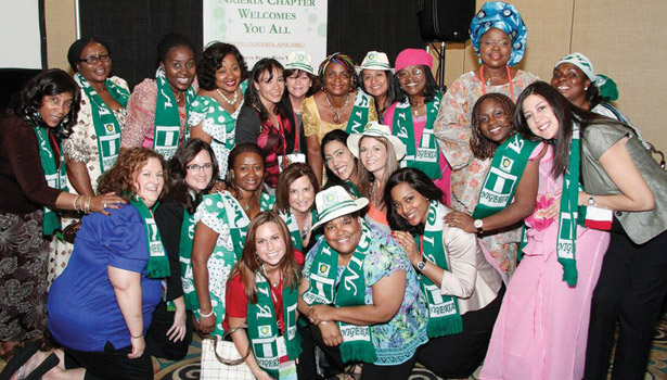 ASSE 2013 Nigerian reception
