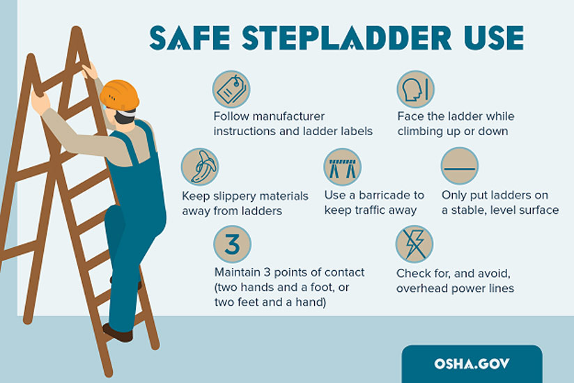 Climbing To The Top On Ladder Safety  The Ladders