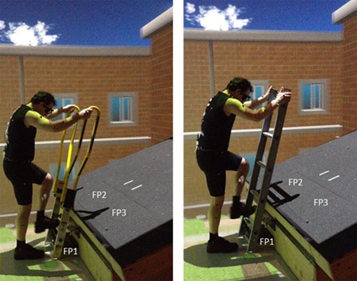 Walk Thru Ladder : Modified quot walk through ladder tested in virtual reality