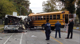 Baltimore school bus crash