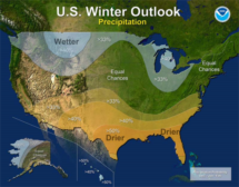 NOAA winter 2017 forecast