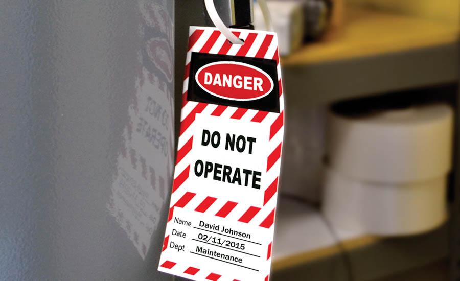 Osha Control Of Hazardous Energy Lockout Tagout Standard