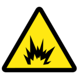 arc flash warning symbol