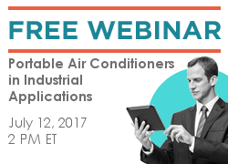 Portable Air Conditioners in Industrial Applications July 12, 2017