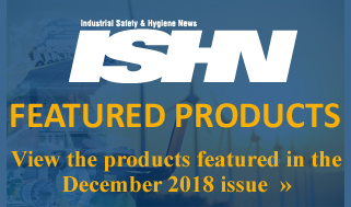 ISHN December 2018 featured products