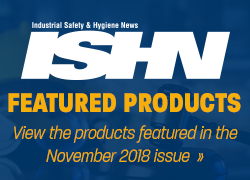 ISHN November 2018 featured products