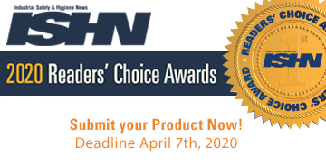 ISHN Readers' Choice Awards 2020 product submissions