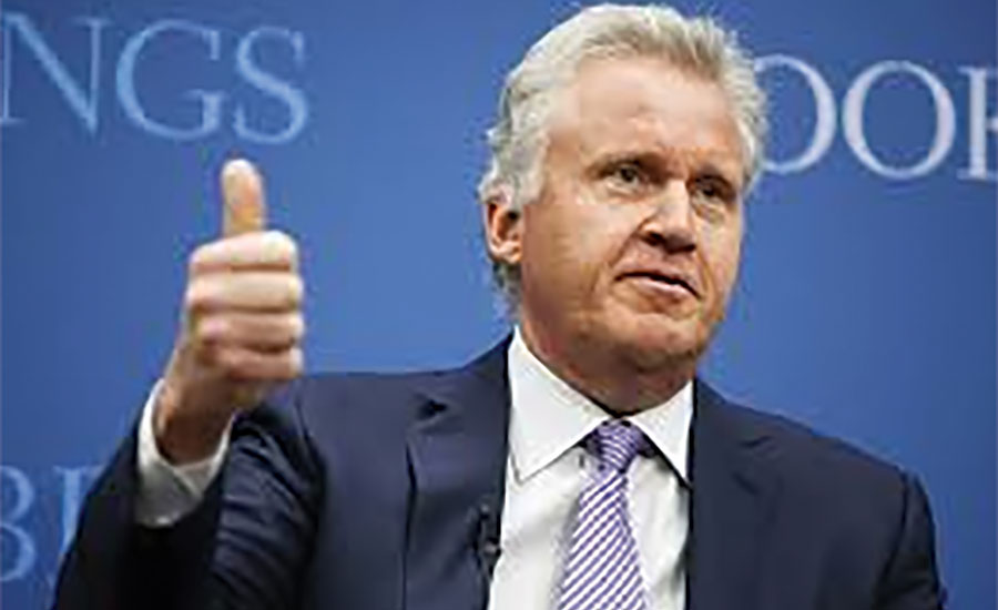 GE CEO Jeffrey Immelt