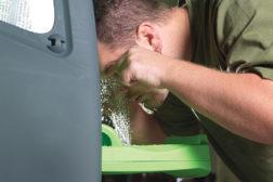 Six steps to emergency eyewash compliance