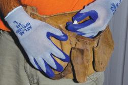 When workers won't wear gloves