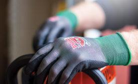 work glove palm coatings