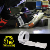 Black Stallion® FlakFinger™ heat-shielding sleeve