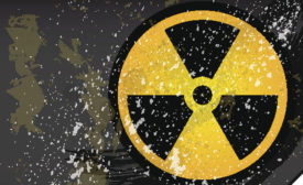 The symbol for radioactivity is universally known and helps create awareness and safety about radioactive situations