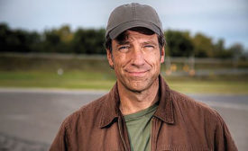 "Mike Rowe, host of the Discovery Channel show, ""Dirty Jobs"""