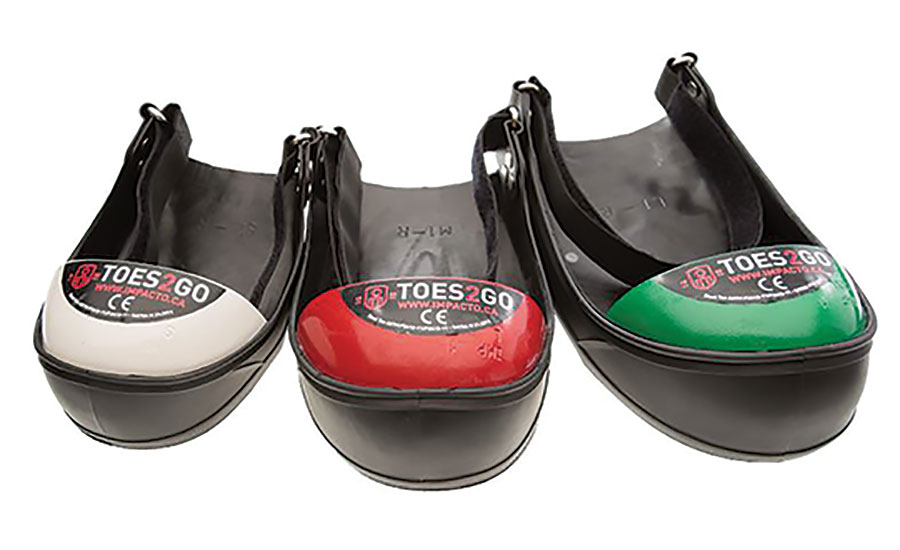 Impacto Protective Products Inc. TOES2GO Foot Protection Line