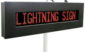 LIGHTNING LED Message Sign from Information Station Specialists