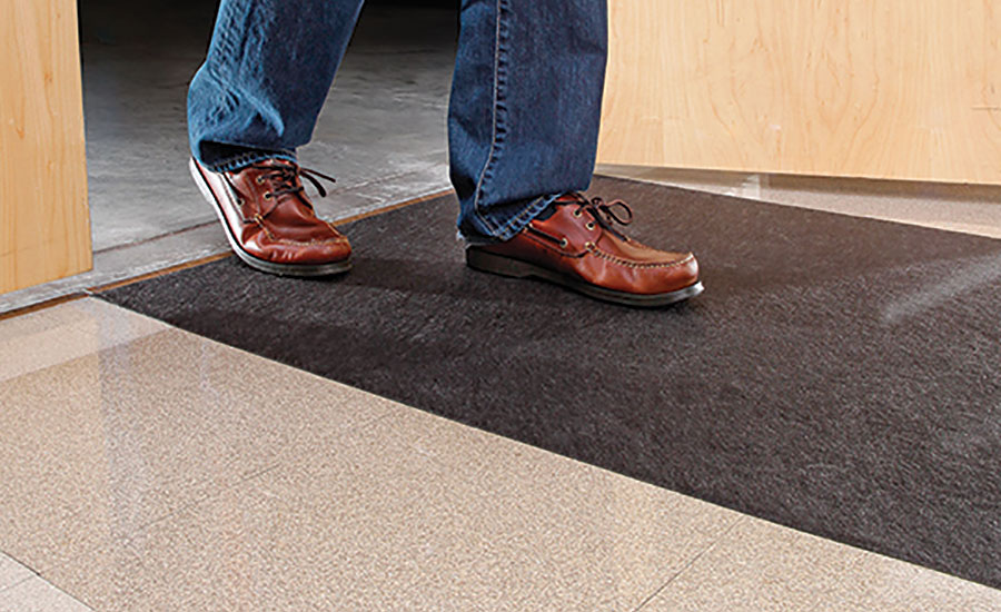 Grippy Floor Mat is NFSI Certified as a high-traction surface