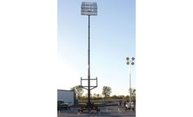 light tower and area lighting