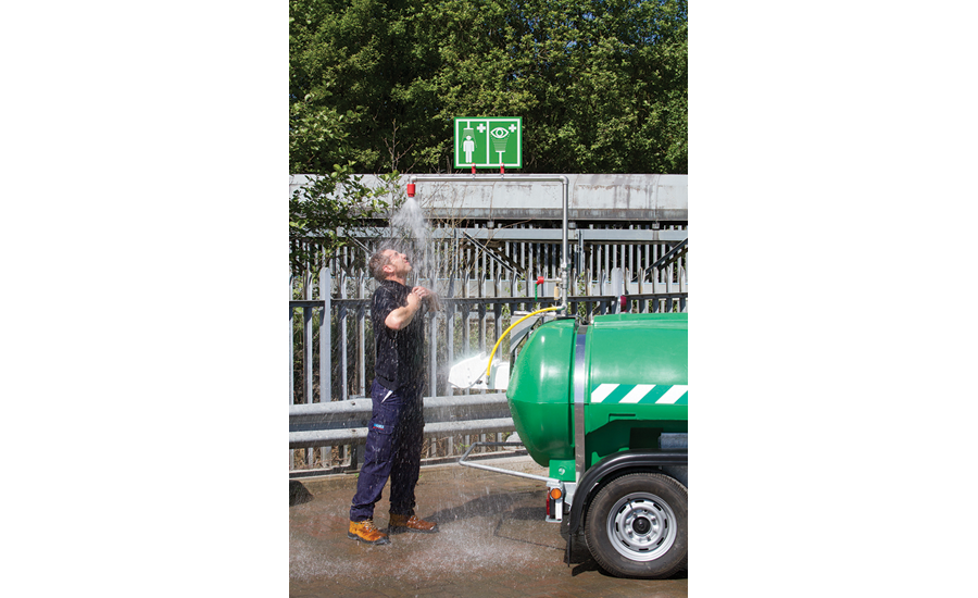STD-MH-P-2000L Bowser Mobile Safety Shower