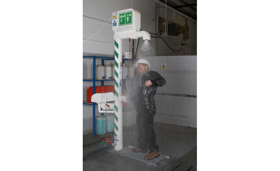 STD-MH-5K/11k Outdoor Emergency Safety Shower