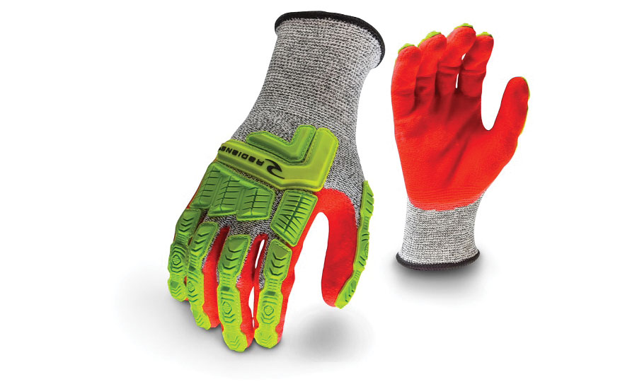 EN 388 Cut Level 5 ANSI Cut 4 impact glove