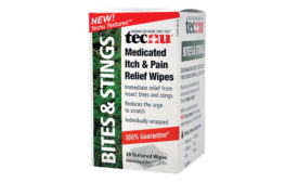 Tecnu Bites & Stings Medicated Itch and Pain Relief Wipes