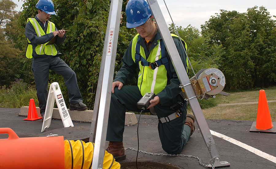 construction industry confined space rule
