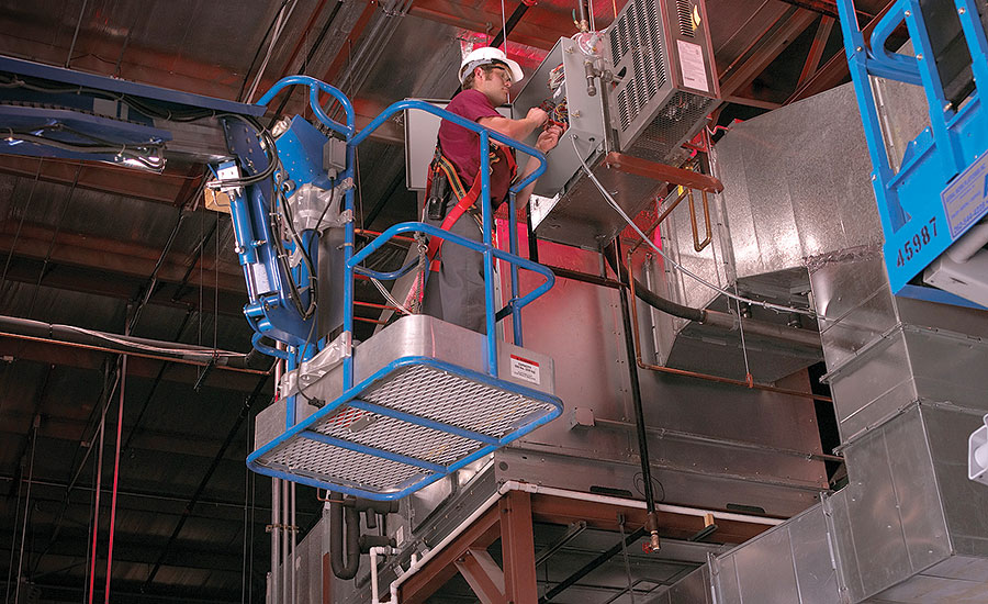 Know The Difference Between Scissor And Aerial Lifts 2016