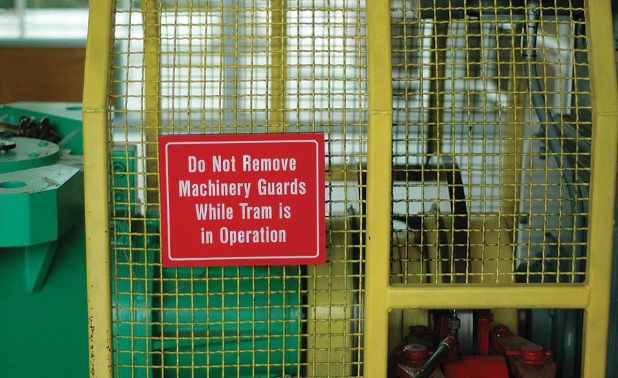 machine safeguarding osha