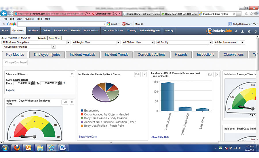 Safety Software Helps You Accurately Track Incidents