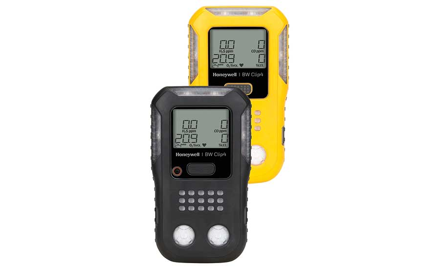 Honeywell BW Clip4 4-Gas Detection