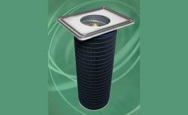 The HemiPleat® FR Carbon dust collector filter