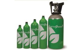 PortaGreen Recyclable and Sustainable Gas Cylinders by Uniphos Envirotronic Inc