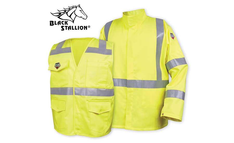 4a1003d76a5f TruGuard™ 250 Hi-Vis FR Cotton Jacket and Vest from Black Stallion ...