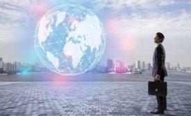 Business globe image
