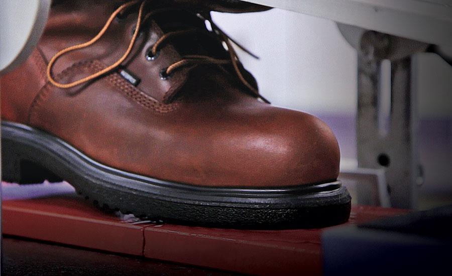 slip resistance in safety footwear