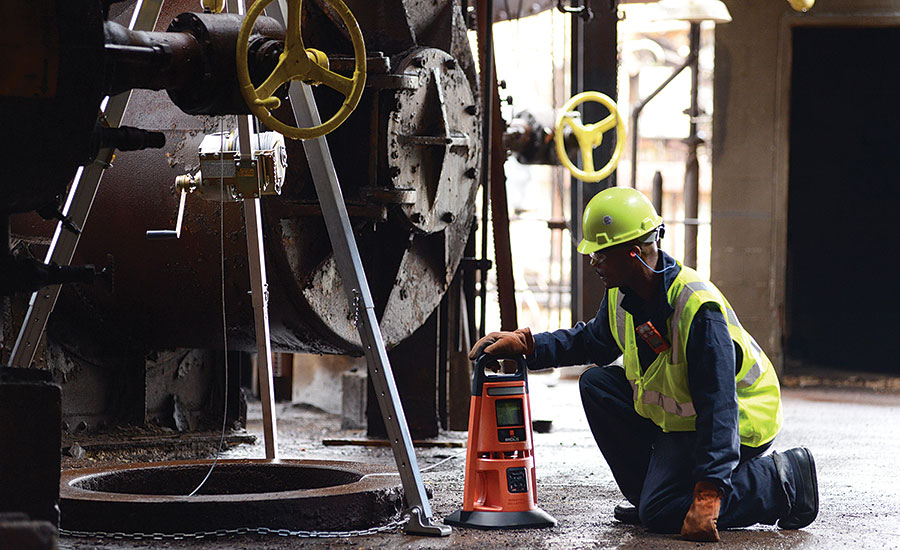 Confined space entry goes wireless gas detection