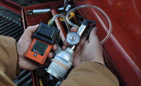 Bump testing your gas detector