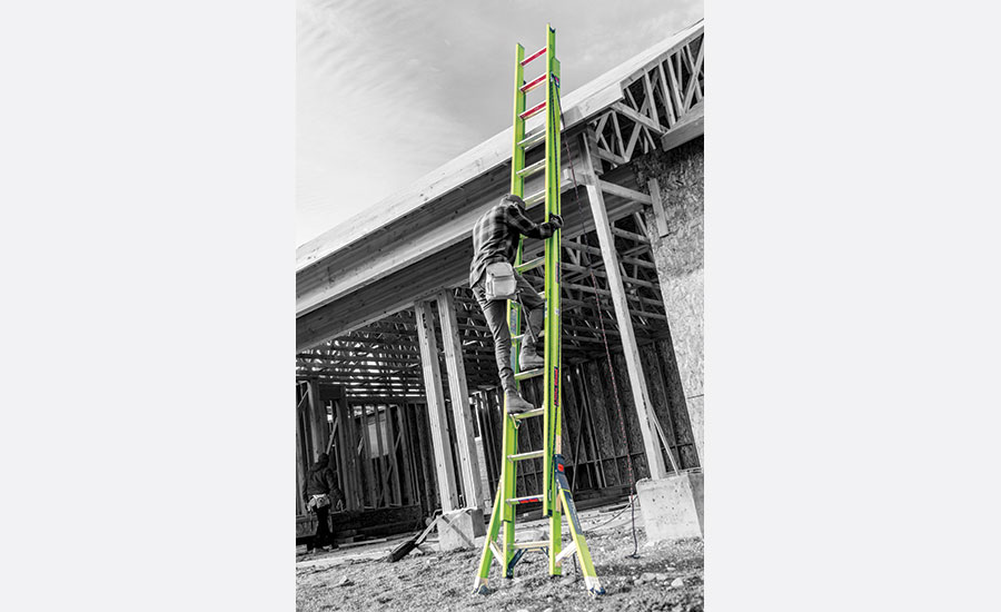 Fall protection ladder safety