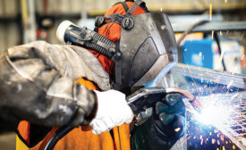 Reduce airborne hazards while welding