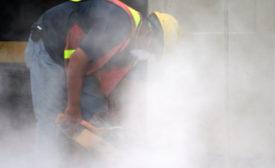 Silica dust's invisible risks