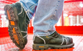 foot protection steel toe work boots