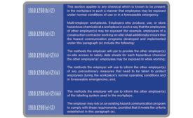 hazcom regulations