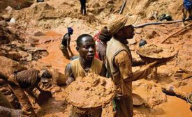 "Who ""actively cares"" for Congolese miners?"