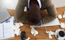 workers stifle reporting illnesses & stressors