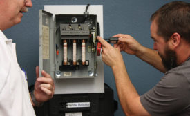 Electrical utility safety training