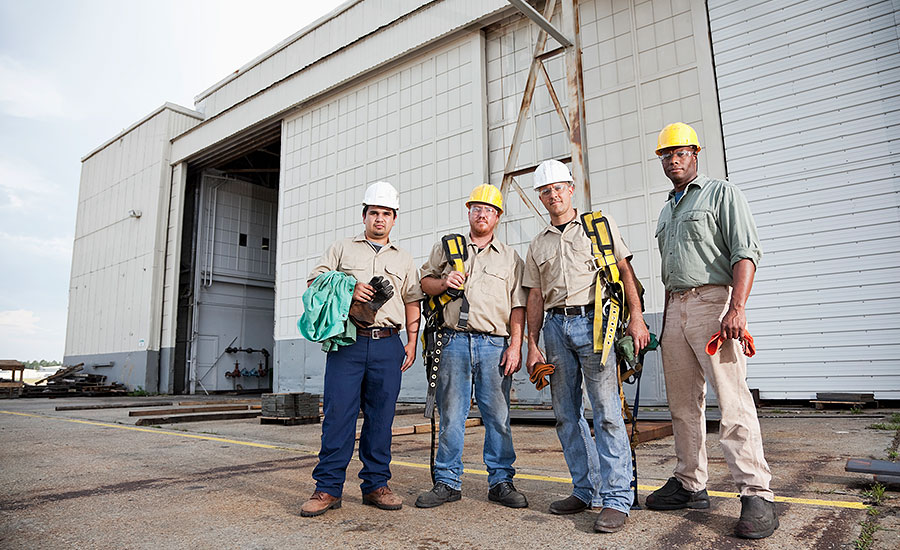fall protection osha standard