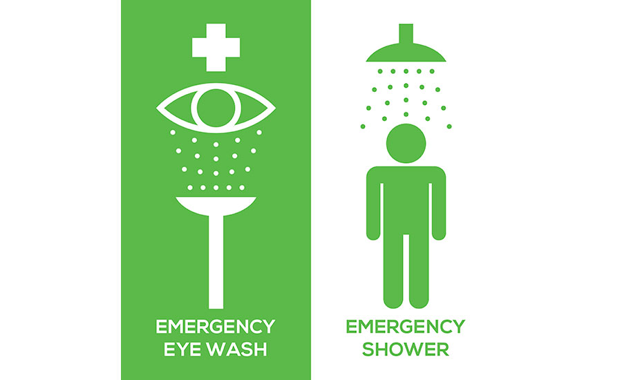 15 tips for using showers & eyewashes