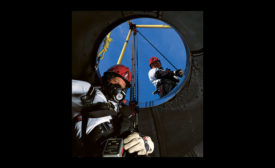 Confined spaces worker protection
