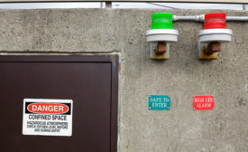 A confined spaces hazard analysis